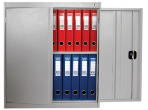 Шкаф металлический архивный ШХА/2-900