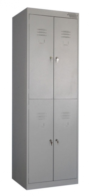 Шкаф металлический для одежды ШРK-24-800